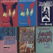 Click here for more info about 'Luscious Jackson - Quantity of Eleven CDs'