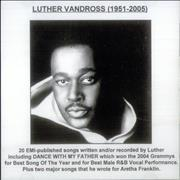 Click here for more info about 'Luther Vandross 1951-2005'