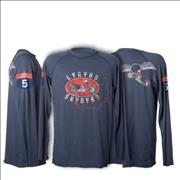 Click here for more info about 'Lynyrd Skynyrd - Distressed Cycle Long Sleeve T-Shirt - XL'