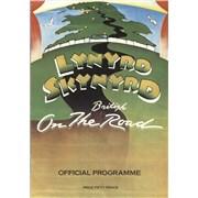 Lynyrd Skynyrd On The British Road + Ticket Stub UK tour programme