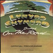 Lynyrd Skynyrd On The British Road - EX UK tour programme