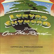 Lynyrd Skynyrd On The British Road UK tour programme