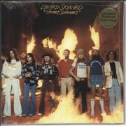Click here for more info about 'Lynyrd Skynyrd - Street Survivors - Red & Yellow Vinyl - Sealed'
