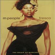 Click here for more info about 'M-People - Fresco + Ticket stubs'