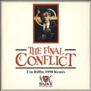 Click here for more info about 'The Final Conflict / I'm Riffin' 1990 Remix'
