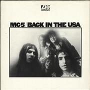 Click here for more info about 'MC5 - Back In The USA - EX'