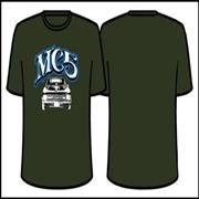 Click here for more info about 'MC5 - Camaro Grey T-Shirt - Medium'