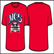 Click here for more info about 'MC5 - Camaro Red T-Shirt - Skinny Fit'