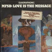 Click here for more info about 'MFSB - Love Is The Message - Quadraphonic'