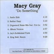 Click here for more info about 'Macy Gray - Do Something'