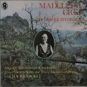 Madeleine Grey Songs Of The Auvergne - Her Historic Recordings UK vinyl LP