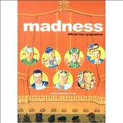 Click here for more info about 'Madness - 2002 Tour Programme'