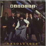 Madness Absolutely + Inner UK vinyl LP