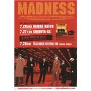 Madness Dangerman Sessions Japan handbill Promo
