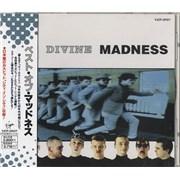 Madness Divine Madness Japan CD album