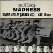 "Madness Divine Medley Spain 12"" vinyl Promo"