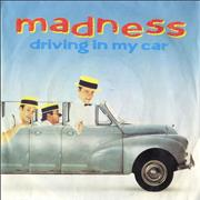 """Madness Driving In My Car UK 7"""" vinyl"""