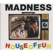 Madness House Of Fun UK CD single