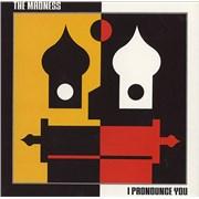 Madness I Pronounce You UK CD single