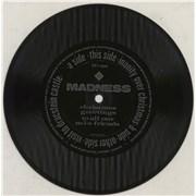 "Madness Inanity Over Christmas Flexi UK 7"" vinyl"