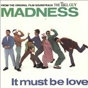 """Madness It Must Be Love - Tall Guy Sleeve UK 7"""" vinyl"""