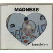 Madness It Must Be Love UK 2-CD single set