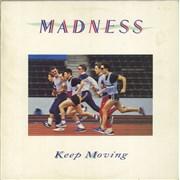 Madness Keep Moving + merch insert UK vinyl LP