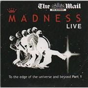 Madness Live UK 2-CD album set Promo