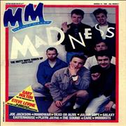 Madness Melody Maker - Volume 59 Issue 13 UK magazine