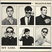 Click here for more info about 'Madness - My Girl - P/S - 4pr'