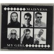 Madness My Girl - Part 1 & 2 UK 2-CD single set