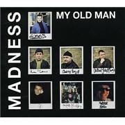 Madness My Old Man UK CD single Promo