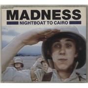 Madness Night Boat To Cairo UK CD single