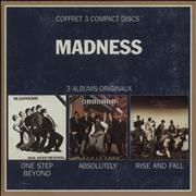 Madness One Step Beyond / Absolutely / The Rise And Fall Netherlands 3-CD set