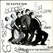 Madness One Step Beyond... - Autographed USA vinyl LP