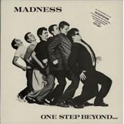 Madness One Step Beyond - Stickered UK vinyl LP