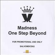 Madness One Step Beyond UK CD-R acetate Promo