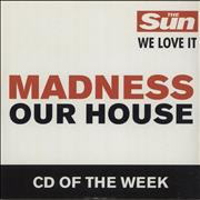 Click here for more info about 'Madness - Our House'