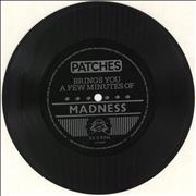"""Madness Patches Brings You A Few Minutes Of - Flexi UK 7"""" vinyl"""