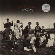 Madness Presents The Rise And Fall - hype sticker UK vinyl LP
