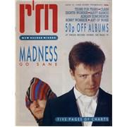 Madness Record Mirror UK magazine