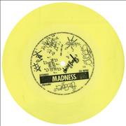 Click here for more info about 'Madness - Take It Or Leave It - Yellow Flexi'
