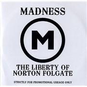 Madness The Liberty Of Norton Folgate UK CD-R acetate Promo