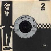 "Madness The Prince - Injection UK 7"" vinyl"