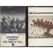 Madness The Rise & Fall / Utter Madness New Zealand cassette album