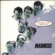 """Madness Tomorrow's Just Another Day Spain 7"""" vinyl"""