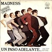 "Madness Un Paso Adelante - One Step Beyond Spain 7"" vinyl Promo"