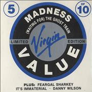 """Madness Waiting For The Ghost Train UK 3"""" CD single"""