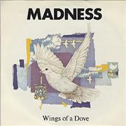 """Madness Wings Of A Dove UK 7"""" vinyl"""