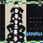 """Madness Work Rest And Play Italy 12"""" vinyl"""